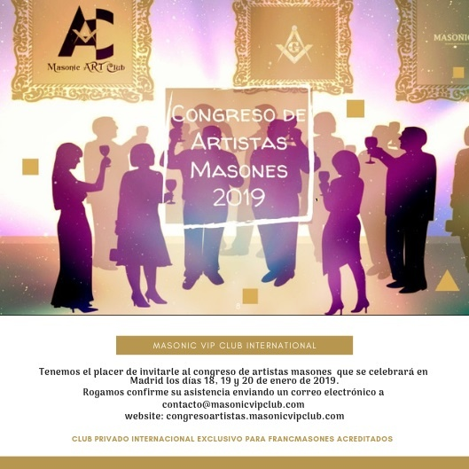 Congreso de Artistas Masones 2019
